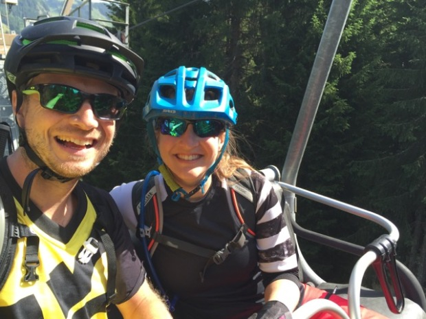 Chair lift smiles